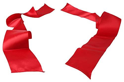 Sportsheets Silk Ribbon Restraint per Giochi di Coppia, Rosso - 1 Prodotto