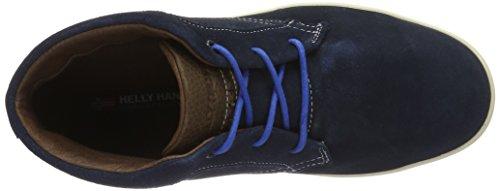 Helly Hansen Vigeland, Stivali da Escursionismo Uomo Blu (Evening Blue/Dark Earth)