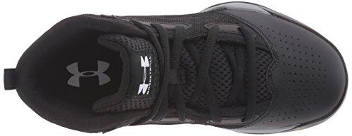 Under Armour Ua Bgs Jet Mid, Chaussures de Basketball Garçon Noir (Black 001)