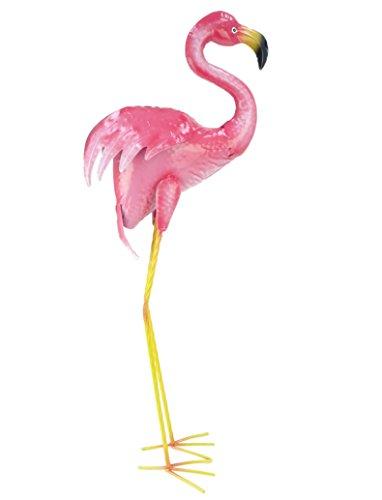 a021fd904d Christmas Concepts® 85cm Pink Metal Free Standing Flamingo - Decorazione da  giardino interno/esterno