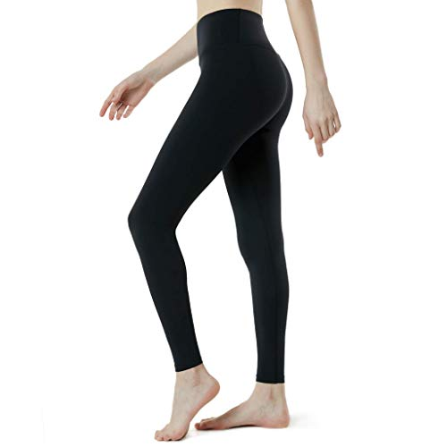 Haludock Frauen hohe Taille solide Yogahosen Workout Laufen Sport Leggings Hosen elastische atmungsaktive Sport Hosen Leggings -