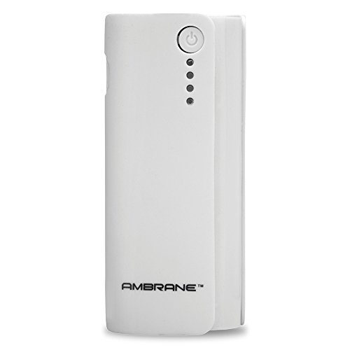 Ambrane P-444 4000mAH Power Bank (White)  available at amazon for Rs.599