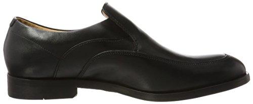 Clarks Corfield Step, Mocassini Uomo Nero (Black Leather)