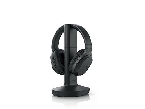 Sony MDR-RF895RK kabellose Kopfhörer (bis zu 100 Meter Reichweite, Geräuschminimierungssystem, 40-mm-Treiber, automatische Frequenzsuche, bis zu 20 Stunden Akkulaufzeit) Schwarz - 2
