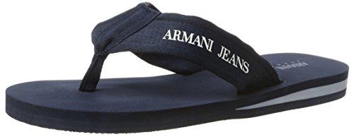 Armani Jeans 9350937p447, Tongs homme Blau (blue 1541)