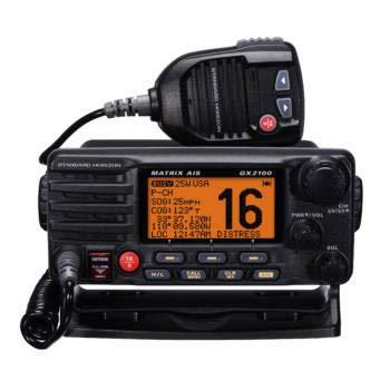 GX-2100 Standard Horizon VHF Mobile Marine Radio, Black (Horizon Marine-vhf-radio Standard)