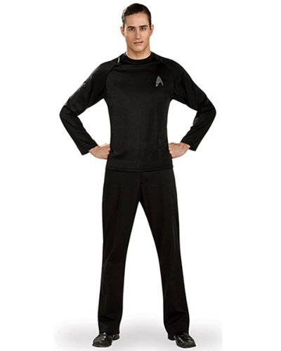 Rubies Costume - Star Trek Uniform Schwarz - Hemd - X-Large (Star Uniform)