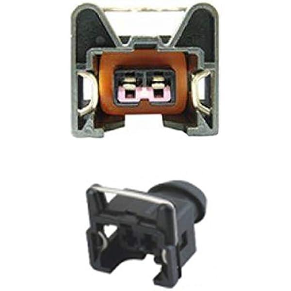 Kfz Ersatz Stecker Einspritzdüse Benziner Bosch Ev1 Short Female 1287013003 1 287 013 003 Auto
