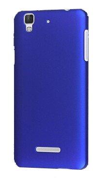SDO Classy Luxury Design Matte Finish Rubberised Slim Hard Back Cover Case for Micromax YU Yureka/Yureka Plus - Blue