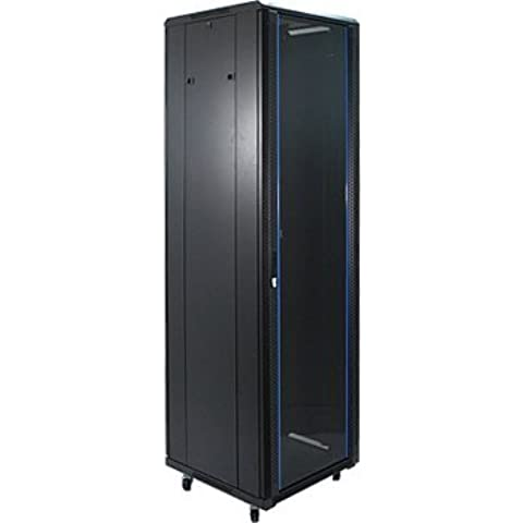 42U Rack de servidor puerta de cristal 1000 mm/3ft3