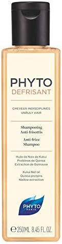 Phyto Phytodefrisant Shampoo per Capelli Indisciplinati e Crespi, Azione anti Umidità, Formato da 250 ml