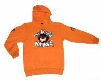 Die Wilden Kerle Kinder Sweat-Shirt Logo, orange, 116, 3500-021