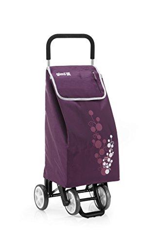 Gimi Twin Einkaufstrolley, violett