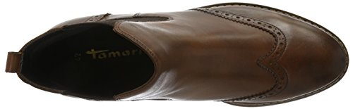 Tamaris 254, Stivali Chelsea Donna Marrone (Cognac 305)