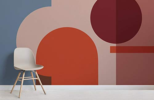 Dessau Bunte Geometrische Formen Moderne Bauhaus Tapete Mural400cmx200cm