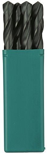 HSS-Bohrer, gerader Schaft, 8,1 mm, 10 Stück