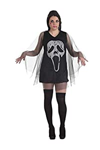 Creaciones Llopis Disfraz Adulto Vampira Vestido Terror, Multicolor (9252