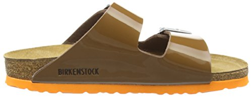 Birkenstock Arizona, Sandales femme Marron (Bison Brown)