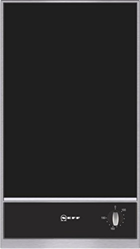 Neff NK 3430 N Kochfeld Elektro / edelstahl / 30,6 cm / Elektro-Fritteuse mit integriertem Temperaturregler / schwarz - 2