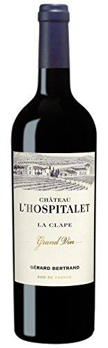 6x 0,75l - 2016er - Gérard Bertrand - Château L\'Hospitalet - Grand Vin Rouge - La Clape A.P. - Frankreich - Rotwein trocken
