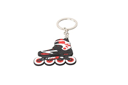 mite-cool-roller-skates-king-ring-rubber-keychain-in-various-colours-8pack-red