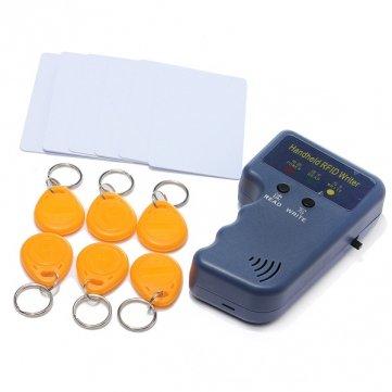 Preisvergleich Produktbild RFID 125 KHz EM4100 ID Card Kopierer,  beschreibbare Etiketten mit 6 Karten und 6