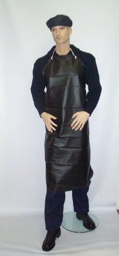 PVC Ultra strapazierfähig/Schürze wasserdicht–Nylon schwarz 121,9cm