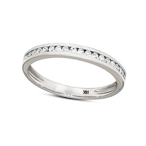 Natürlicher Diamant Mütter Tag Geschenke 0.13ct Diamant Ring Zum Frau I2-Klarheit 9k Gold Diamant Schmuck Geschenke Zum Frau G-H Farbe 100% Echt Diamant (Ring Rose Diamond Gold 10k)