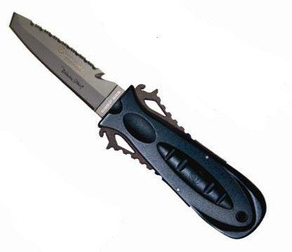 Aqualung Squeeze Lock TITAN (Tauchermesser), schwarz-anthrazit