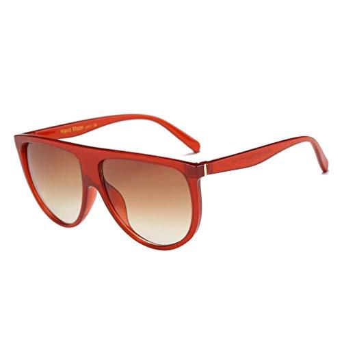 Junecat Frauen-Sonnenbrille Kunststoff-Rahmen Harzlinse UV-Strahlen Schutz Sonnenbrillen Weibliche UV400 Brillen