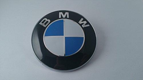 BMW Blau Weiß 82mm 8,2cm Hood Front Emblem Logo selbstklebend