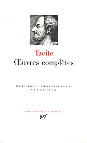 Tacite : Oeuvres complètes
