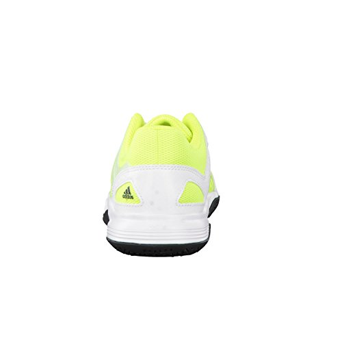 adidas Court Stabil J, Sneakers basses Garçon Solar Yellow / Core Black / FTWR White