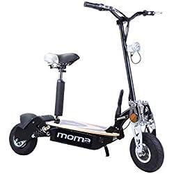 "Moma Bikes Patinete eléctrico plegable urbano 2100W 10"" 42km/h Autonomía 20km"