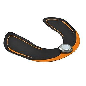 Delicacydex USB, Das intelligenten Hüften-Trainer-Hüften-Muskel vibriert, der Übungs-Maschine ausübt Ausgangseignungs-Trainings-Ausrüstung mit 6 Modi – schwärzen Sie
