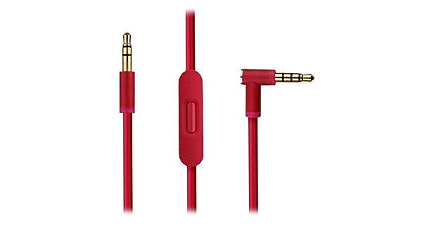 Reytid Rosa Audiokabel Kompatibel Mit Beats Von Dr Dre Elektronik