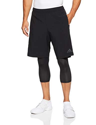 adidas Herren Tango Player Hose, Black, XL -