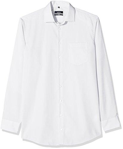 Seidensticker Herren Businesshemd Comfort Extra Langer Arm mit Kent Kragen Bügelfrei Weiß (Weiß 1)