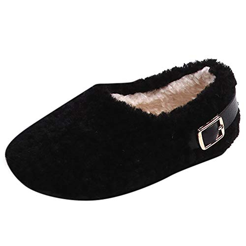 cinnamou Jungen Mädchen Winter Fluffy Weicher Snow Boots Schneestiefel Warme weiche Winterschuhe Boots Warm Anti Rutsch Mädchen Hallenschuhe