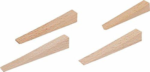 Triuso Kanalkeile Holz Fliesenkeile 4-14mm Keile Fliesenkeil Fliesenlegerkeil 250 Stück