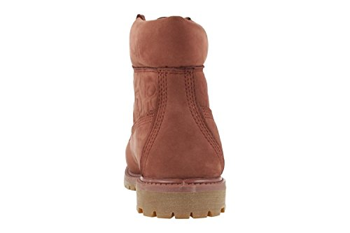 Timberland 6IN Premium Boot W Sable CA1K3O, Stivali Bordeaux