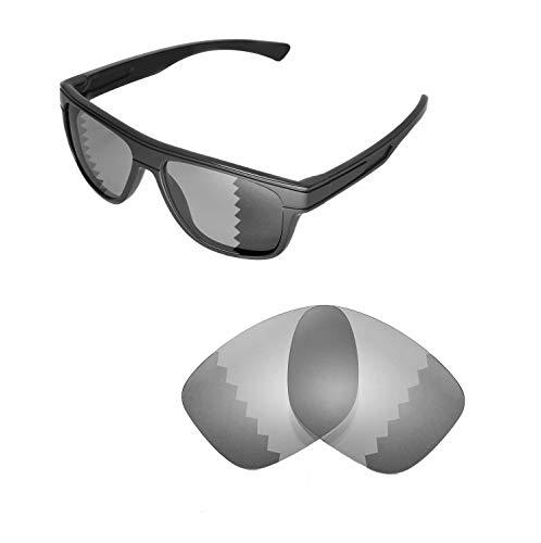 Walleva Ersatzgläser für Oakley Breadbox Sonnenbrille -Mehrfache Optionen (Übergang/Photochromisch - Polarisiert)