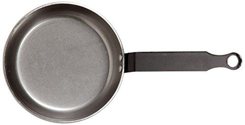 Vaello La Valenciana Enamelled Steel Round Rotisserie 22 cm Black