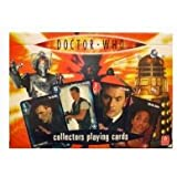 Doctor Who Collectors Playing Cards ( 2 packs)
