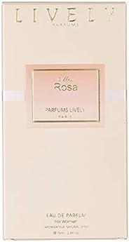 Lively Miss Rosa by Paris for Women - Eau de Parfum, 75 ml
