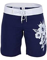 Urban Beach Widemouth Short Femme Bleu Marine FR : M (Taille Fabricant : 10)