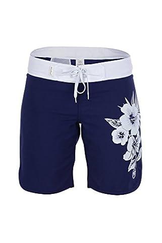 Urban Beach Damen Wide Mouth Board Shorts–Navy Blau, Größe 8