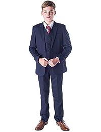 0aeb1974b Romario Boys Navy Suit, Boys Wedding Suit, Page Boy Suit, Prom Suit,