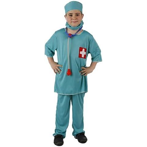 Atosa 95772 - Disfraz de médico para niño (4 años)