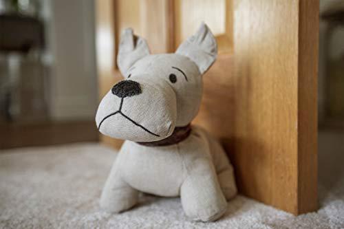 HomeZone Neuheit Tier Gewichtet Stoff Doorstops. Schwer Gefüllt Hund Mops Elefant Hedgehog Türstopper Ornament Keil Zuhause Dekor - Scotty The Terrier -